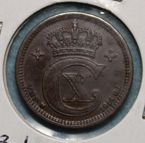 Denmark 1914 2 ore