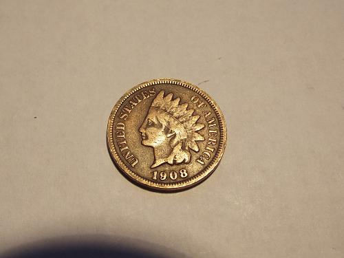 1908 P Indian Head