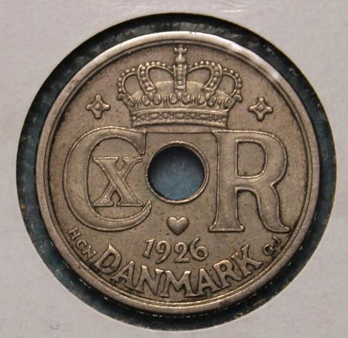 Denmark 1926 25 ore