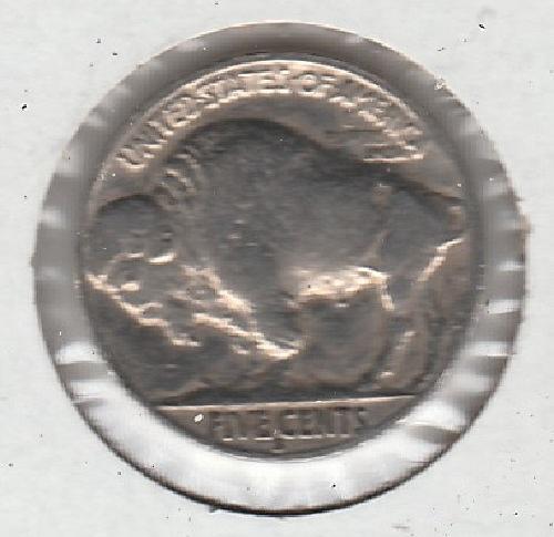 1936 S Buffalo Nickels - #2