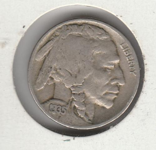 1935 P Buffalo Nickels - #3