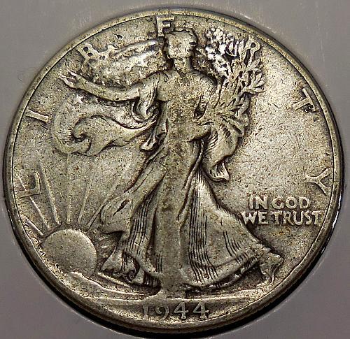 Walking Liberty Half Dollar 1944-P