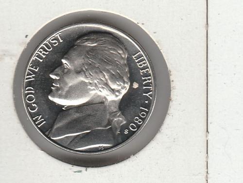 1980 S Jefferson Nickels - #2