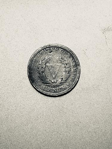 Worn But Distinct 1894 Liberty Nickel V coin