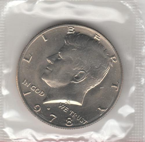 1978 D Kennedy Half Dollars - #2