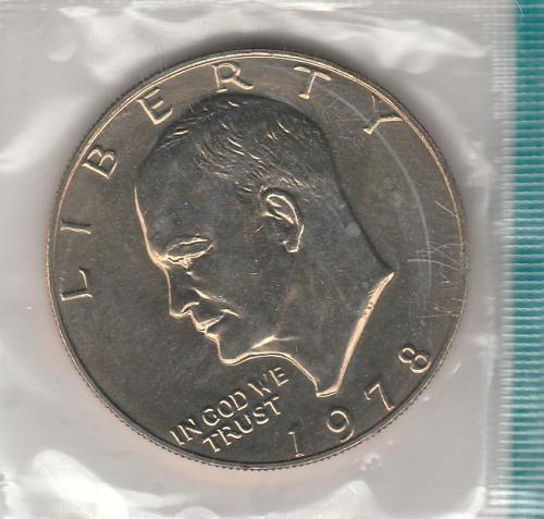 1978 P Eisenhower Dollars -- #2