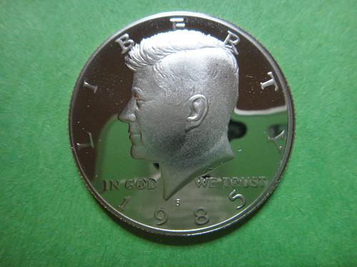 1985-S Kennedy Half Dollar Proof-64 (Near Gem)
