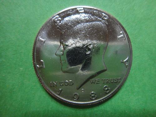 1988-D Kennedy Half Dollar MS-65 (GEM)