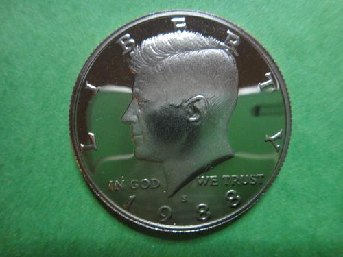 1988-S Kennedy Half Dollar Proof-66 (GEM+)