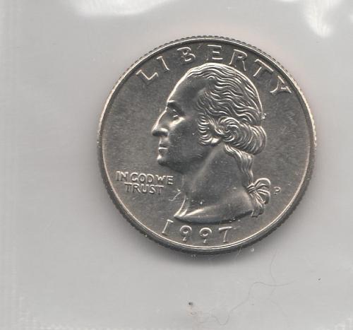 1997 P Washington Quarters - #2