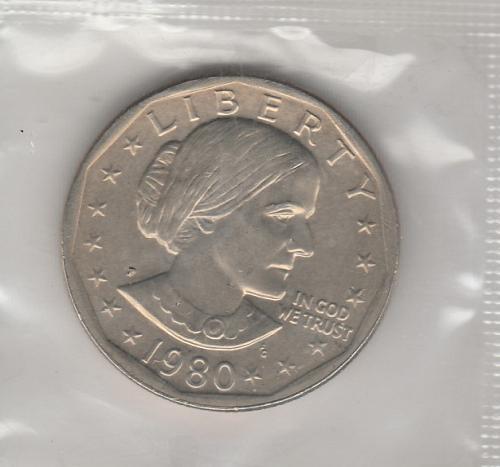 1980 P Susan B Anthony Dollars - #2