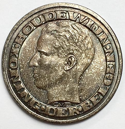 1958 50 Francs - Belgium - Brussels World Fair
