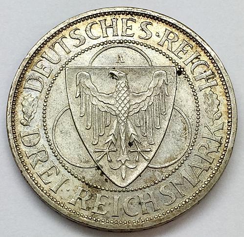 1930 3 Marks - Germany