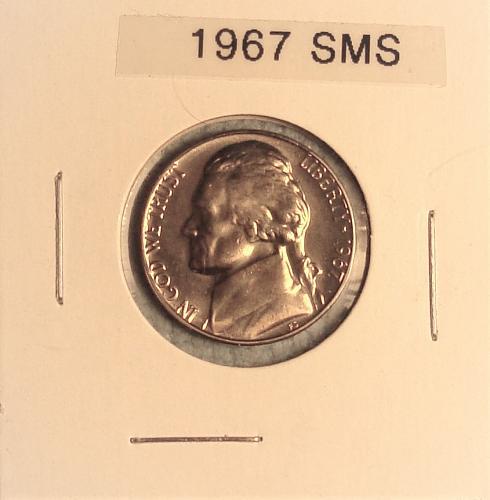 1967 Jefferson Nickel SMS Special Mint Set