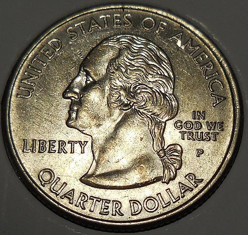 2006-P Nevada Quarter Die Error