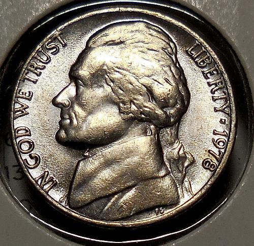 1978-P Jefferson Nickel
