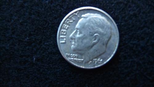 1961 Roosevelt Dime