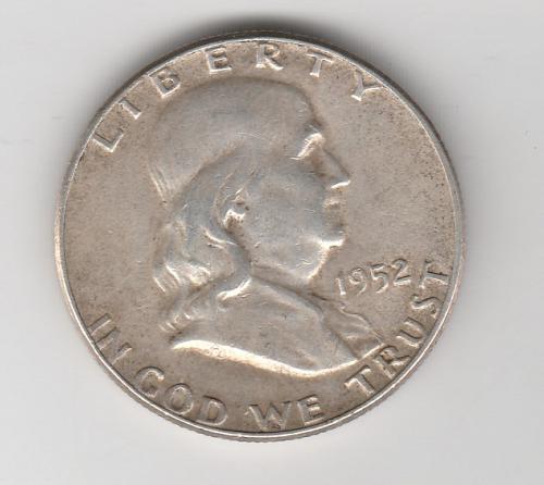 1952 P Franklin Half Dollars - #2