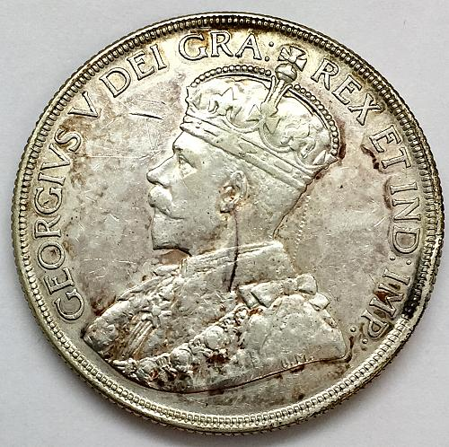 1936 One Dollar - Canada - Cleaned