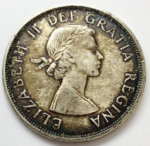1963 One Dollar - Canada - Cleaned