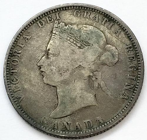1881 H 25 Cents - Canada