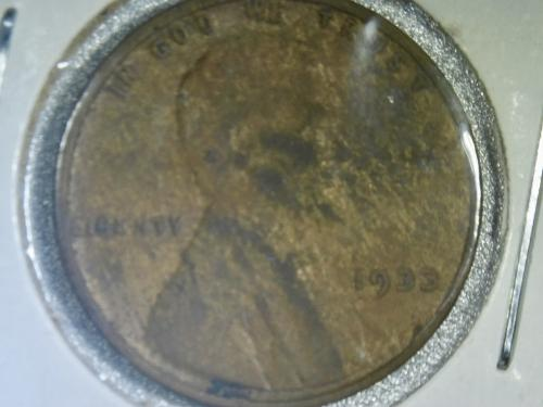 """1933 P Lincoln Cent """" Woody """""""