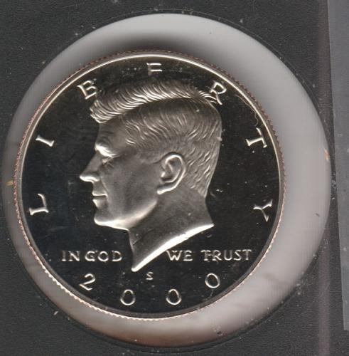 2000 S Proof Kennedy Half Dollars - #3