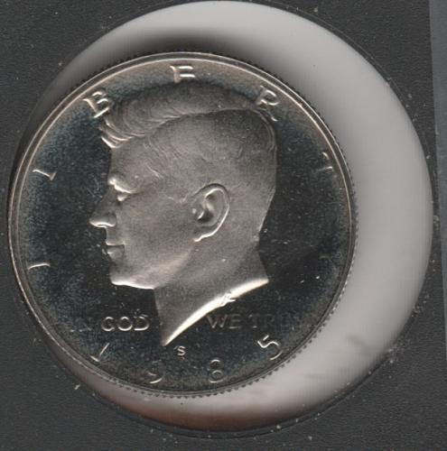 1985 S Kennedy Half Dollars - #2
