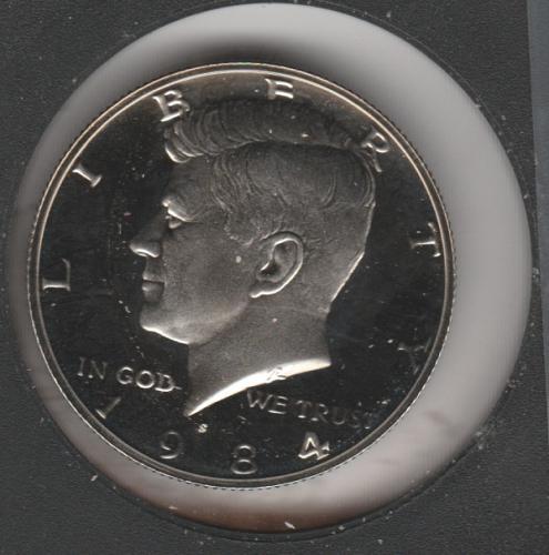 1984 S Kennedy Half Dollars - #2