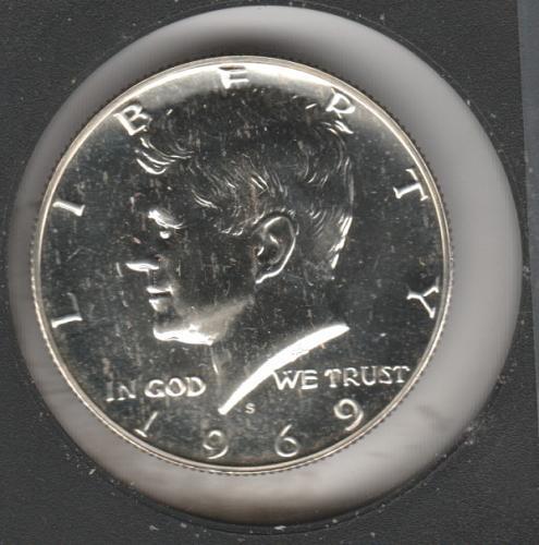 1969 S Kennedy Half Dollars - #2
