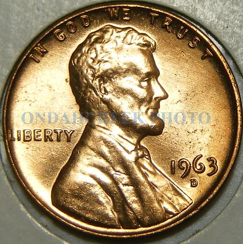 1963-D Lincoln Cent Doubled Die Eyelid Wexler WDDO-047