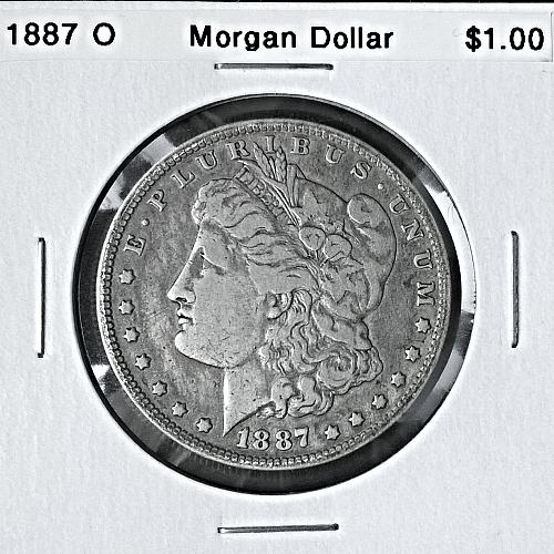 1887 O Morgan Dollar - 6 Photos!