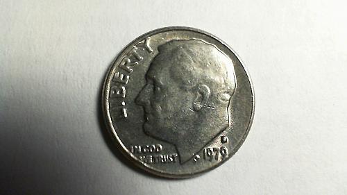 1979-D Roosevelt Dime