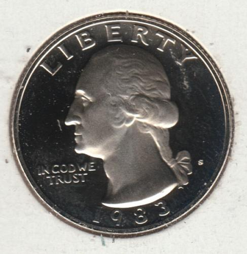 1983 S Washington Quarters - #2