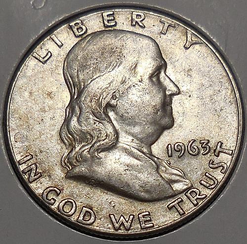 Franklin Half Dollar 1963-P