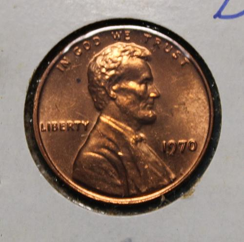 1970 P Lincoln Memorial Cent