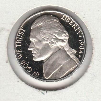 1984 S Jefferson Nickels - #3