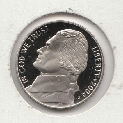 2004 S Jefferson Nickels: Peace Medal - #2