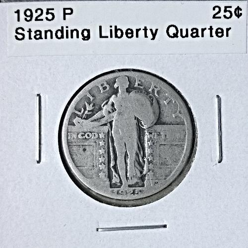 1925 P Standing Liberty Quarter - 6 Photos!