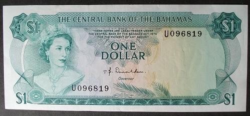 Bahamas P35a Dollar XF