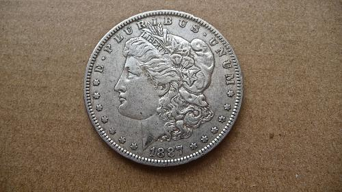 1887-O Morgan Dollar