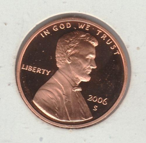 2006 S Lincoln Memorial Cent Small Cents - #2