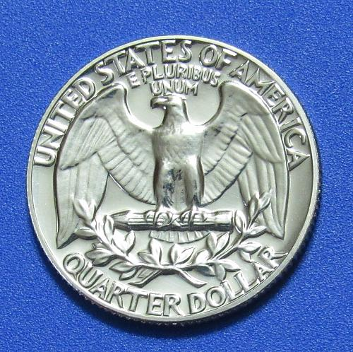 1972-S 25 Cents - Washington Quarter