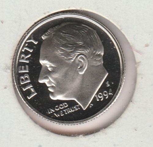 1994 S Roosevelt Dimes - #2