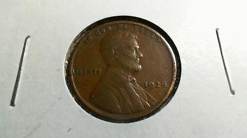 1928 P Lincoln Wheat Cent