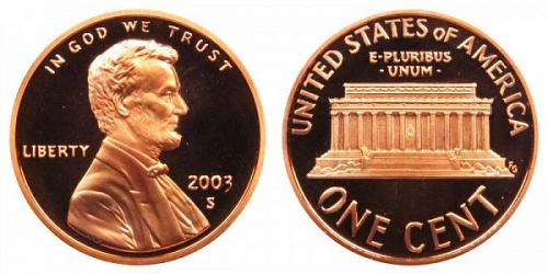 2003  S  PROOF   LINCOLN CENT