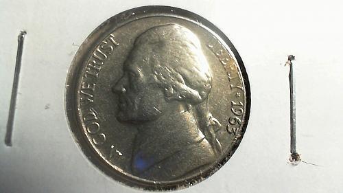 1963-D Jefferson Nickel