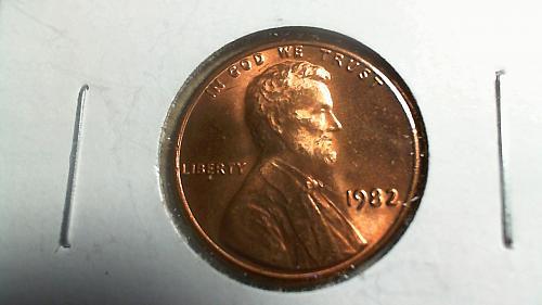1982-P Lincoln Memorial Cent