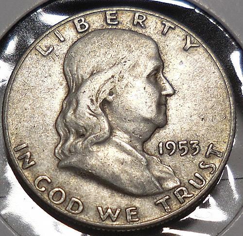 Franklin Half Dollar 1953-D