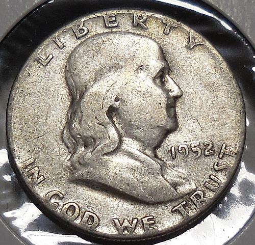 Franklin Half Dollar 1952-P
